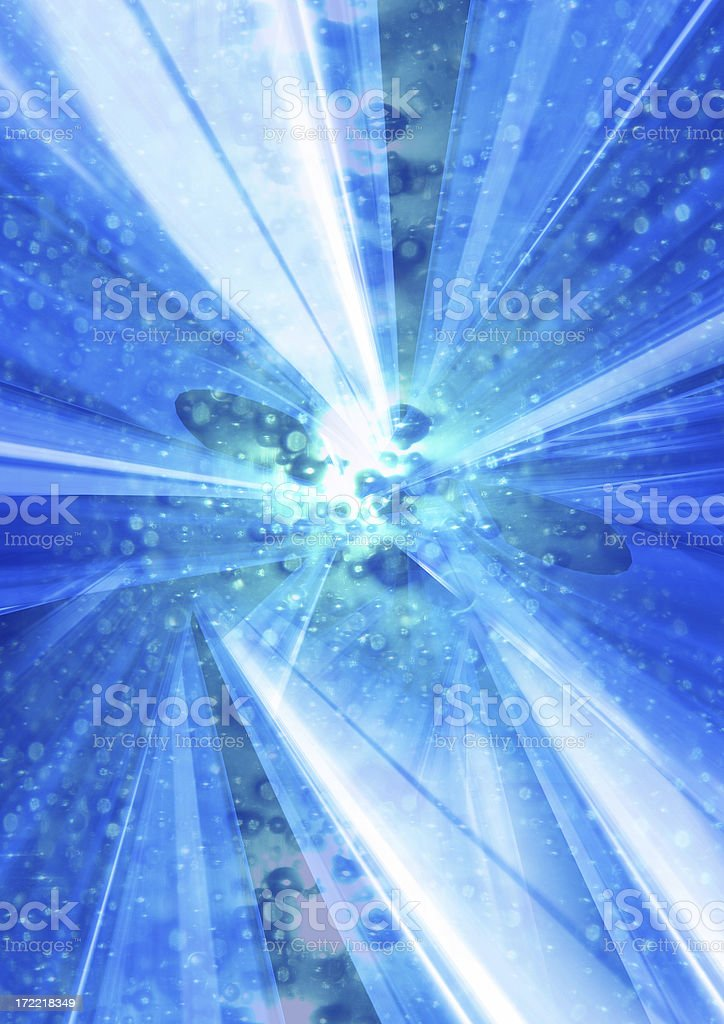 Particle Vortex royalty-free stock photo