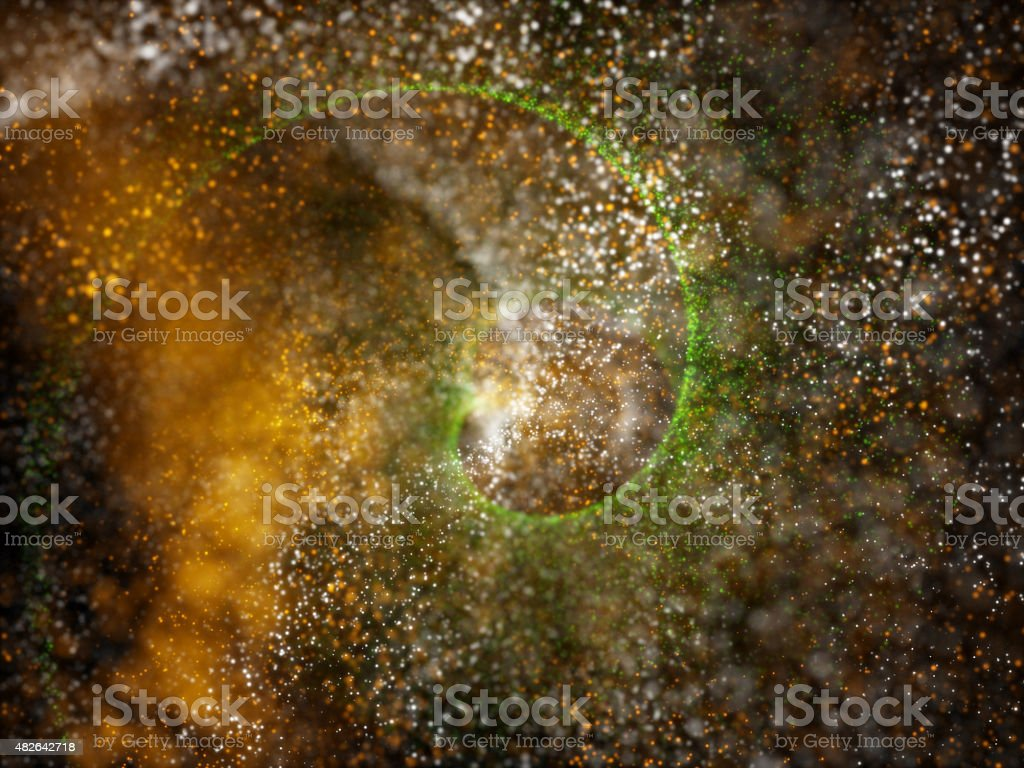 particles formation tricolors background stock photo