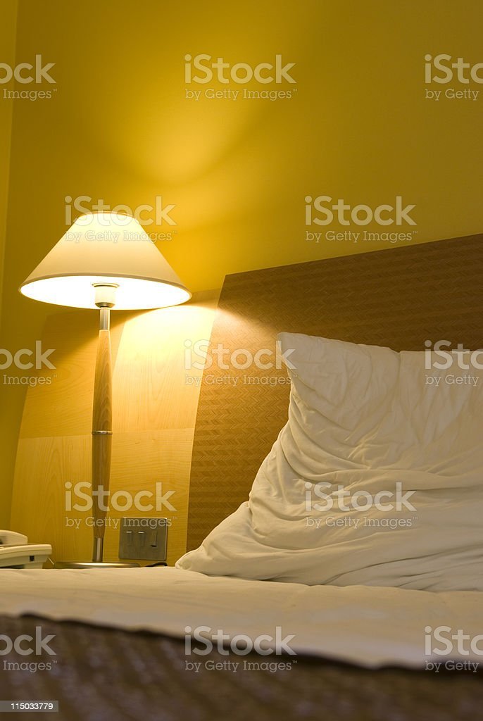 particular light from bed royalty-free stock photo