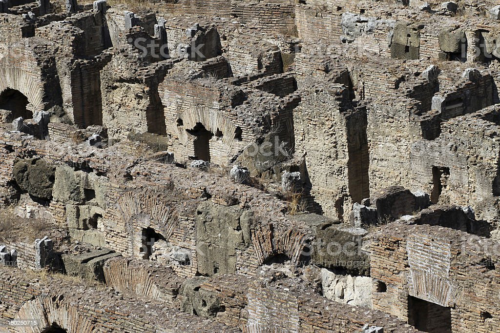 particular the colossal Colosseum architectural symbol of power royalty-free stock photo