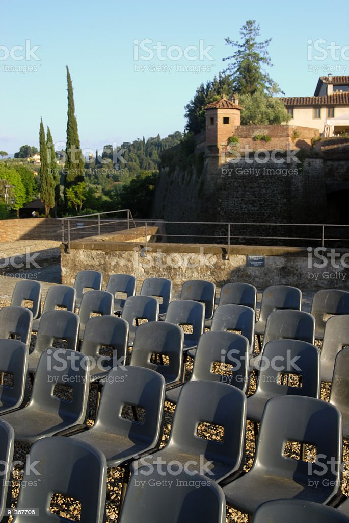 Particular view of Florence royalty-free stock photo