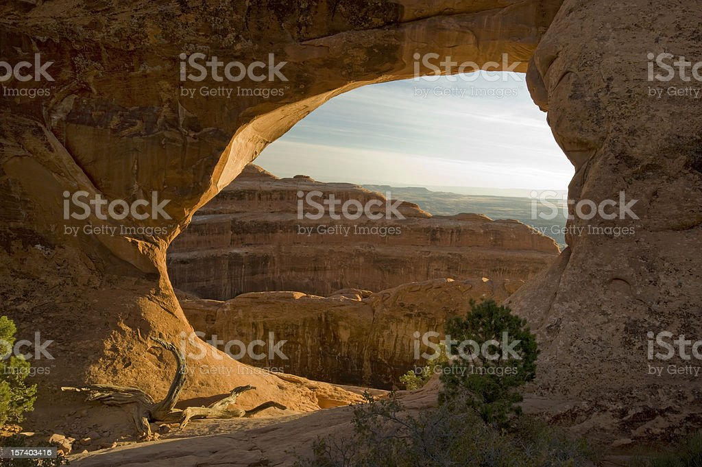 Partition Arch, Arches NP royalty-free stock photo