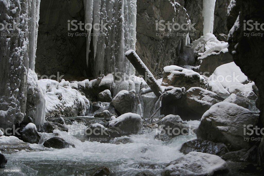 Partnachklamm Garmisch Partenkirchen stock photo
