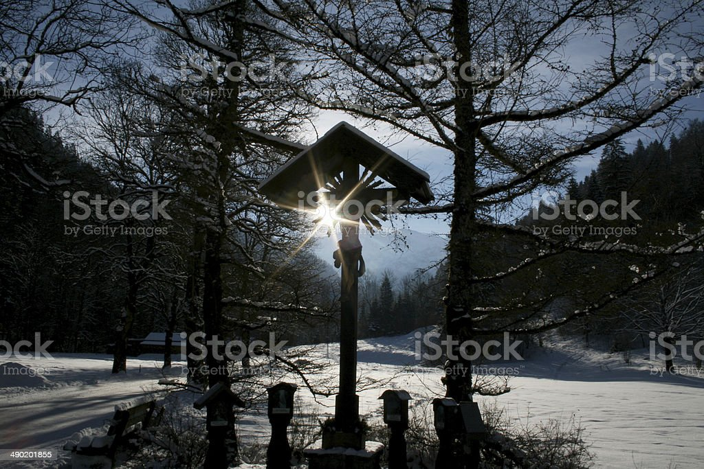 Partnachklamm Garmisch-partenkirchen stock photo