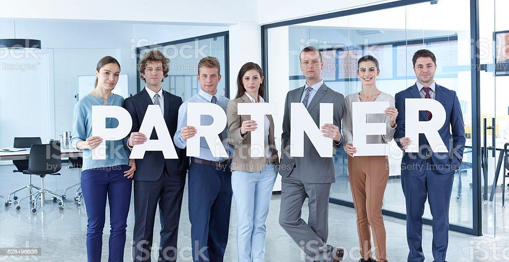 Partner stock photo