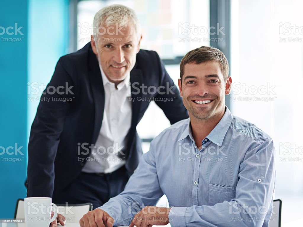 Partner with the best, stay ahead of the rest stock photo