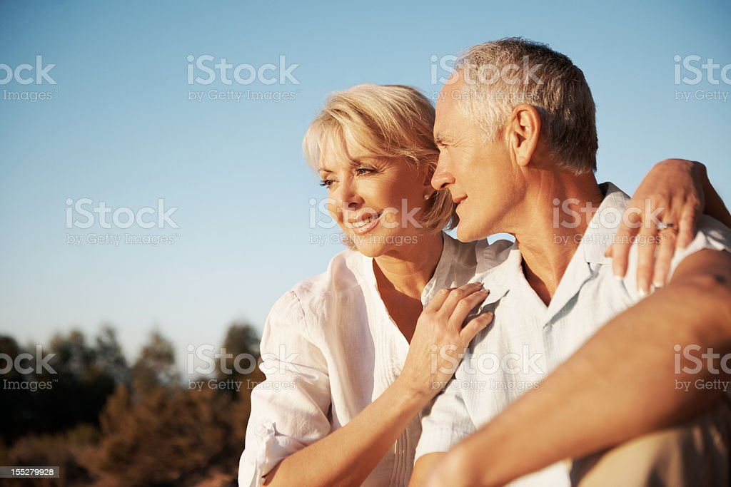 Partners for life royalty-free stock photo