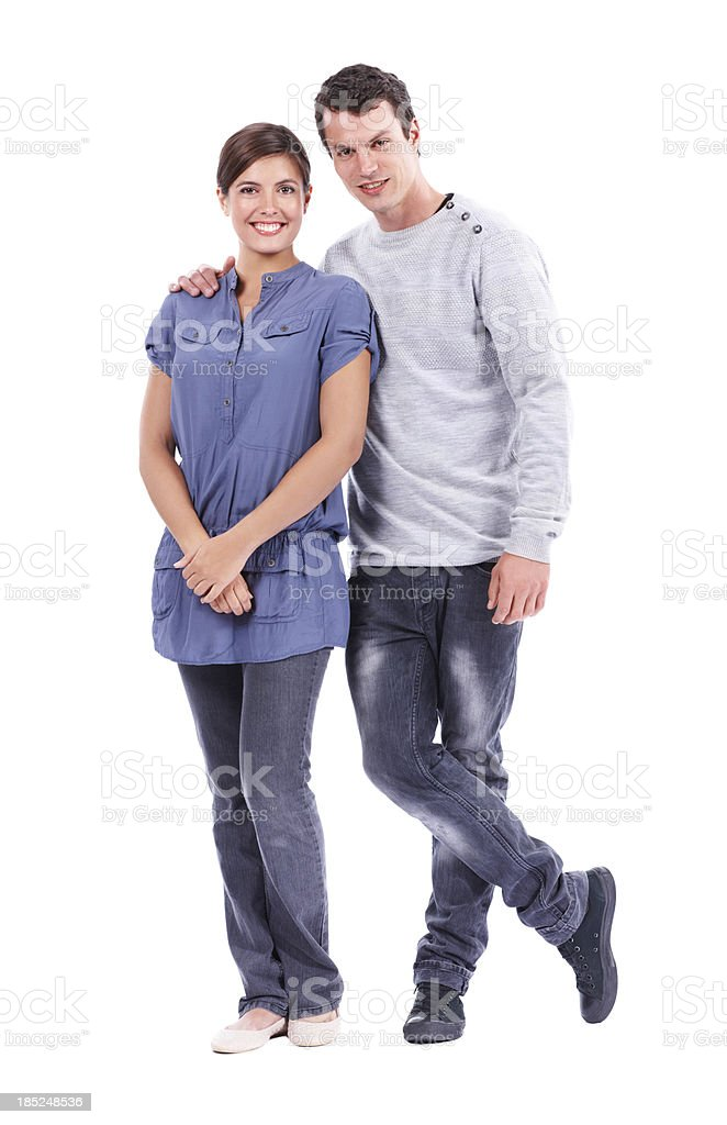 Partners in life and love stock photo