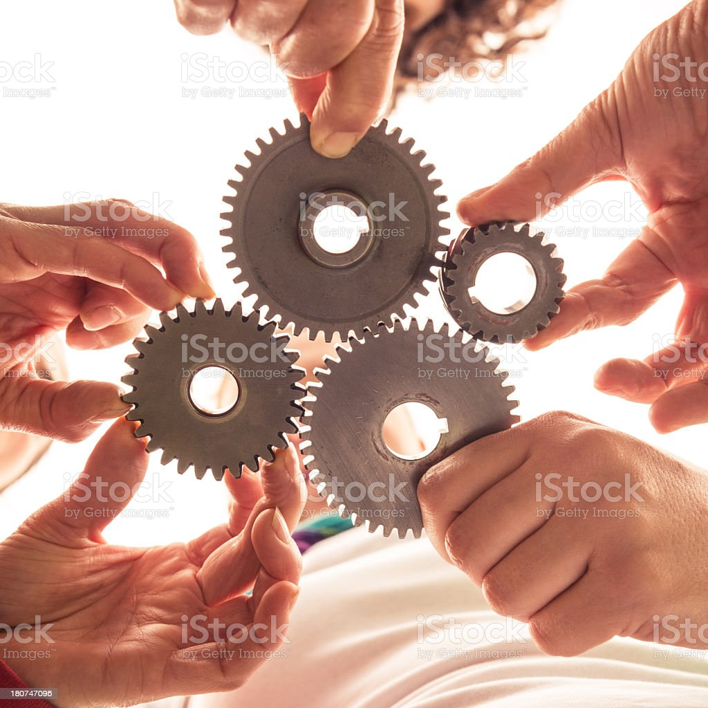 partnership concept image royalty-free stock photo