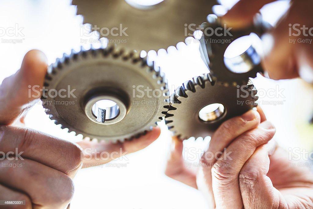 partnership concept image royalty-free stock photo