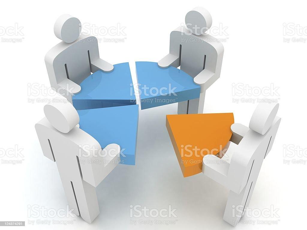 Partnership Concept royalty-free stock photo