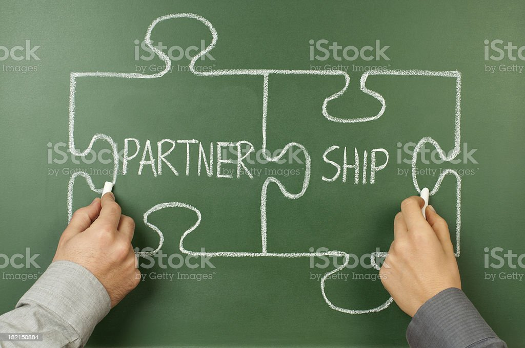 partnership royalty-free stock photo