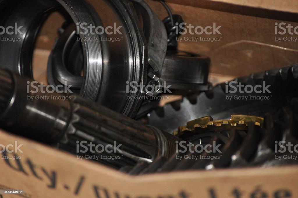 Parts royalty-free stock photo