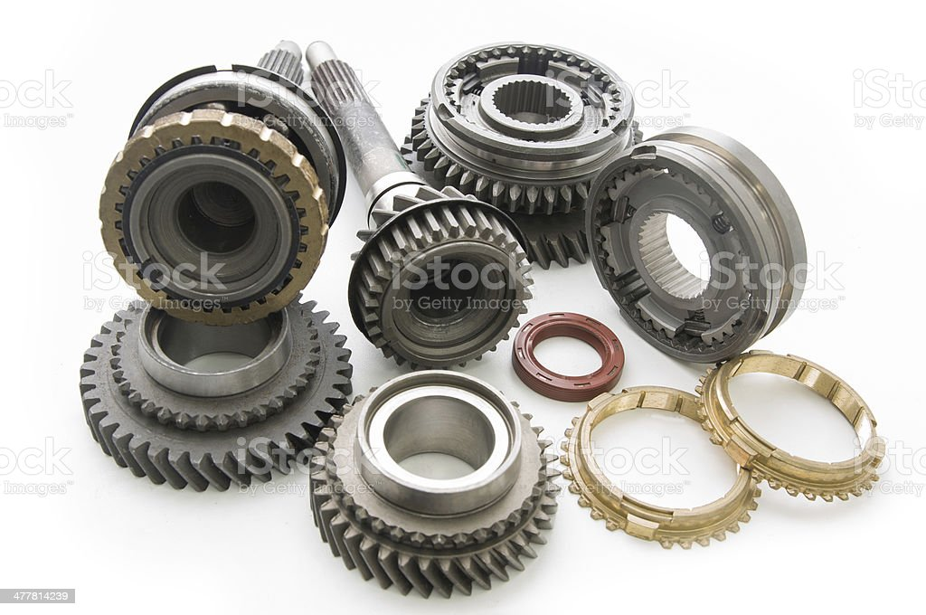 Parts Transmission stock photo