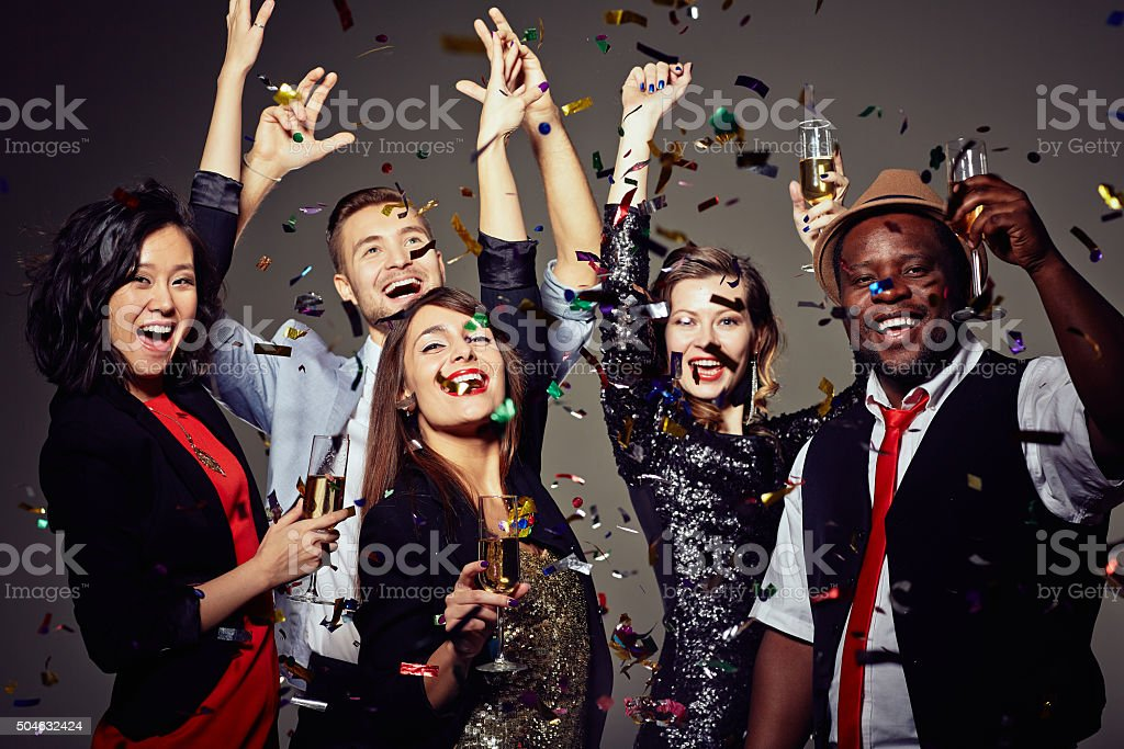 Party and celebration stock photo