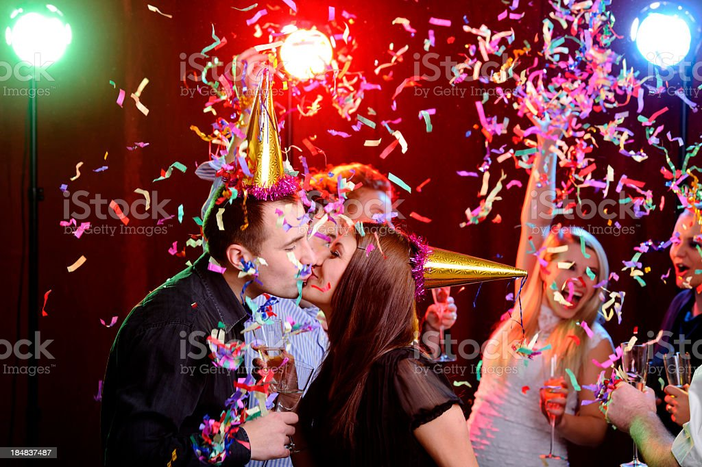 party and love royalty-free stock photo