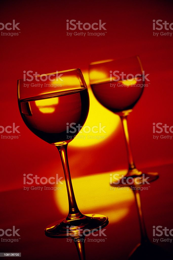 party at sunset royalty-free stock photo