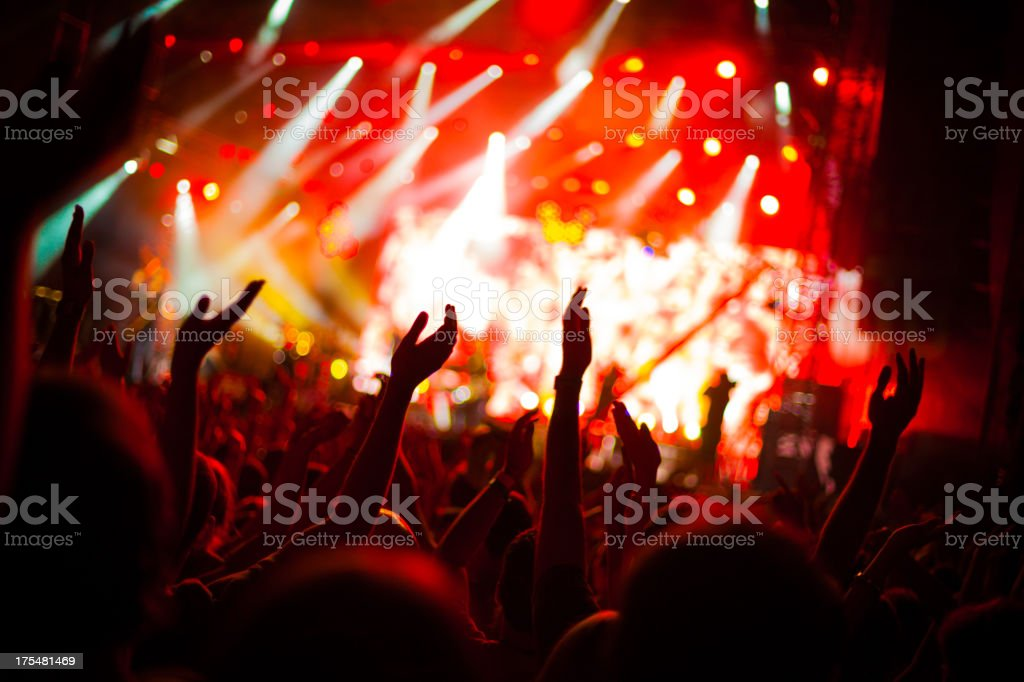 Party Atmosphere royalty-free stock photo