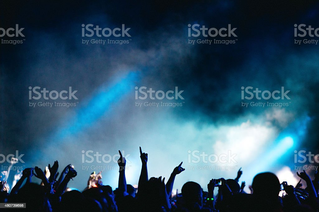 Party Atmosphere stock photo