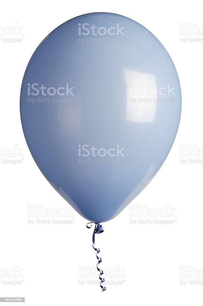 party balloon isolated on white royalty-free stock photo