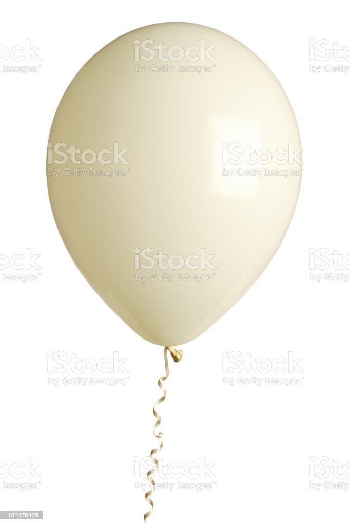 party balloon isolated on white royalty-free stock photo