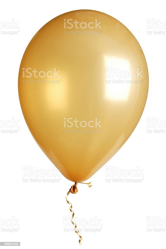 party balloon isolated on white stock photo