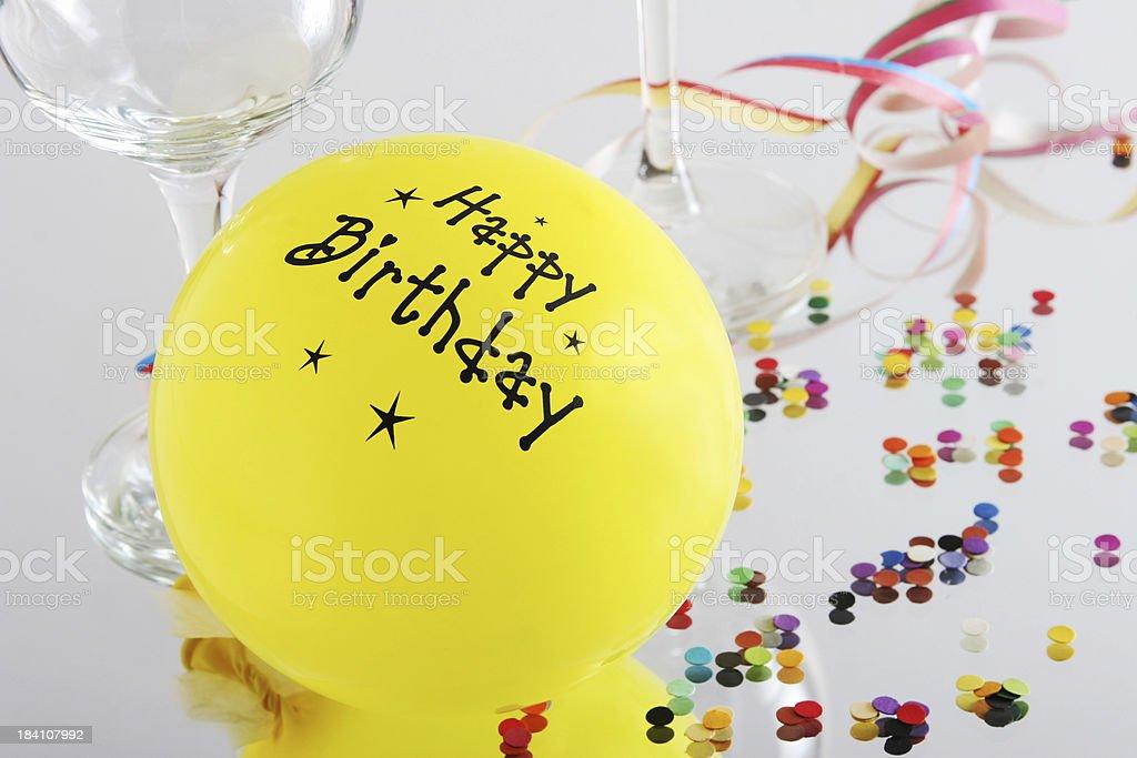 party balloon royalty-free stock photo