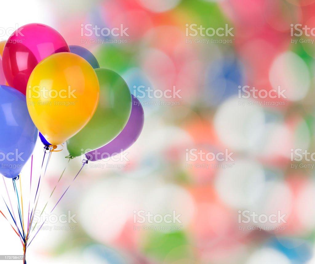 Party Balloons royalty-free stock photo