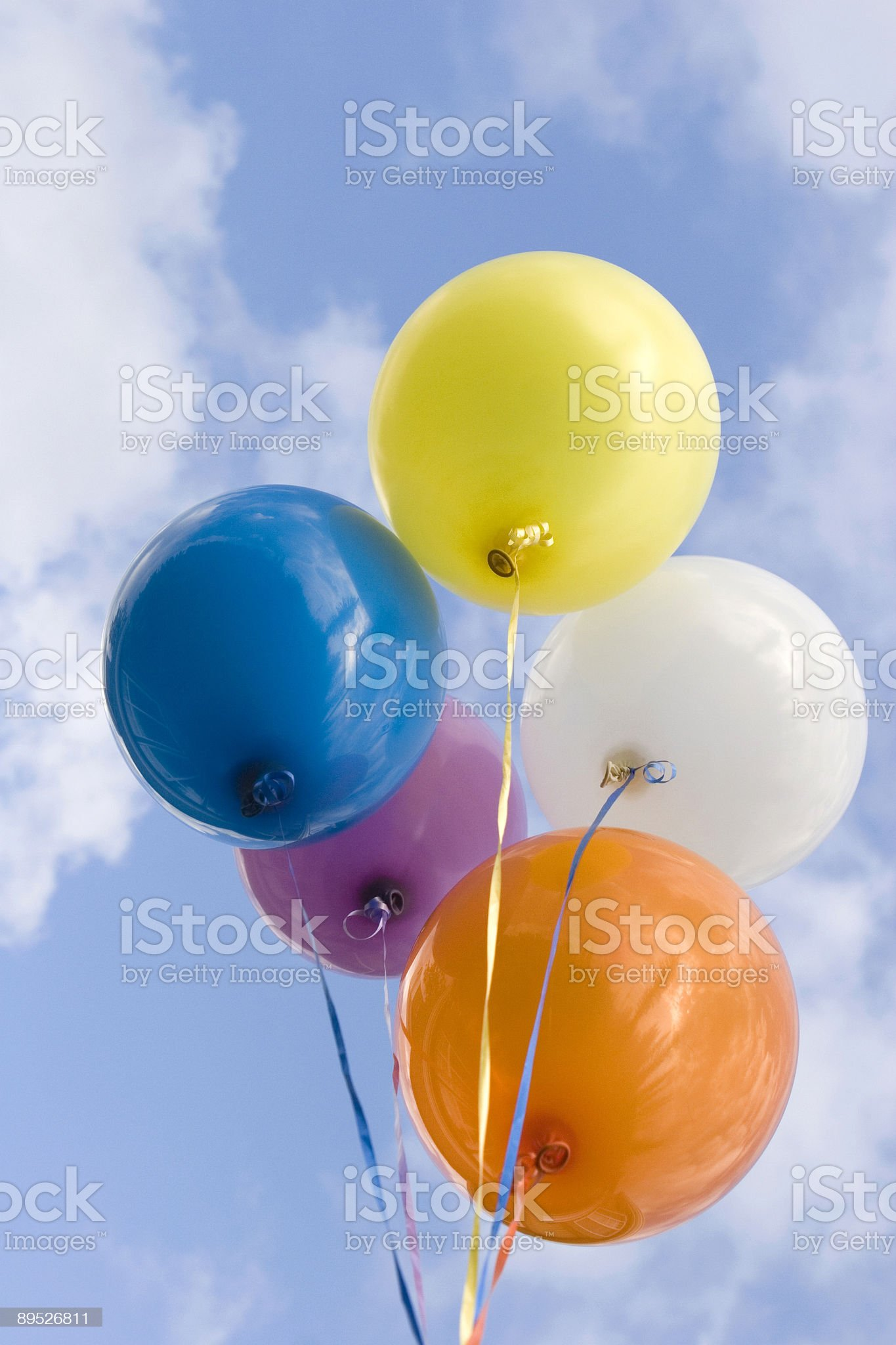 Party Balloons royalty-free stock photo