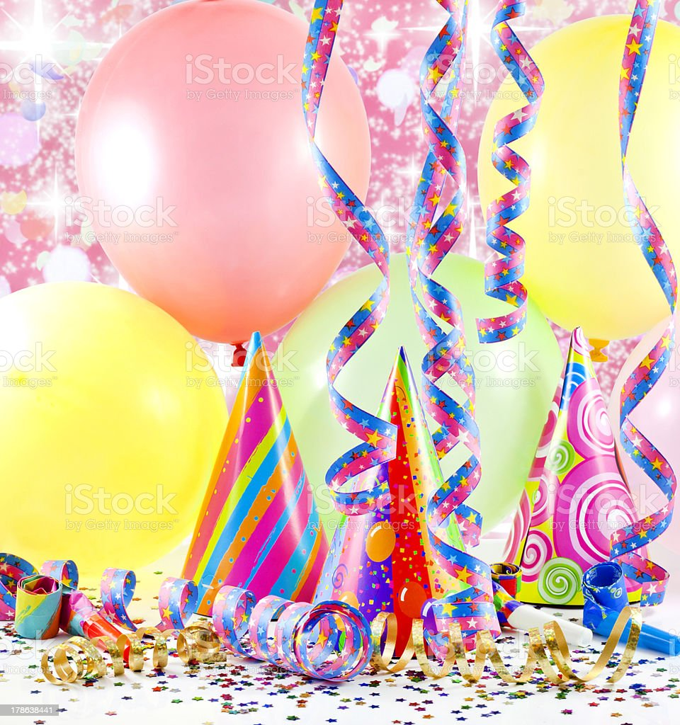 party birthday background royalty-free stock photo