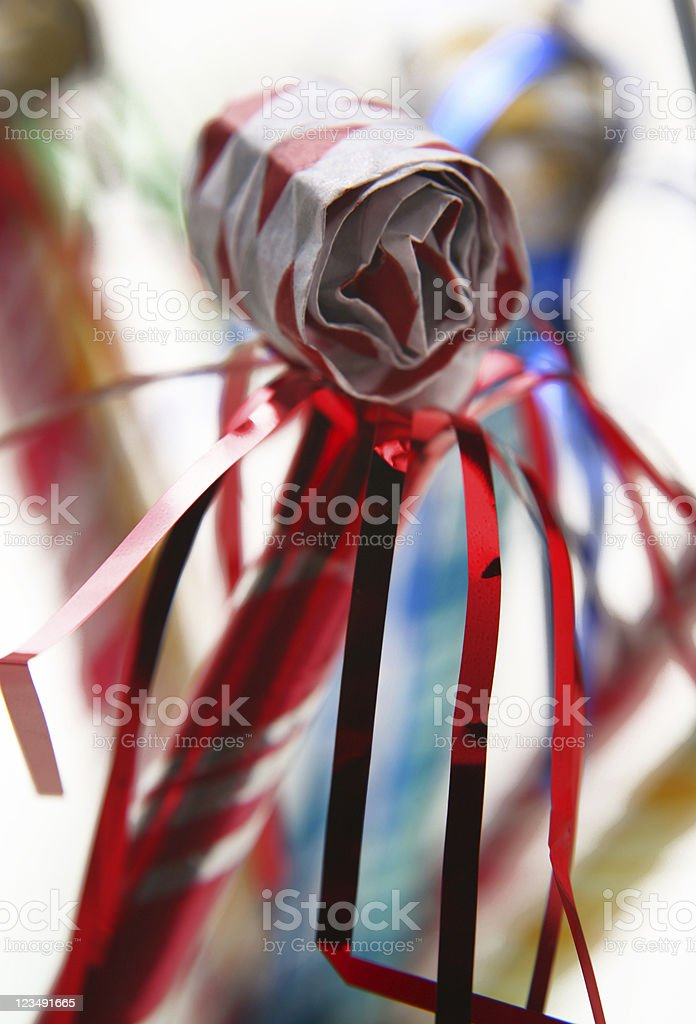 party blower stock photo