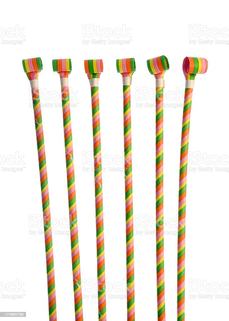 Party Blowers stock photo