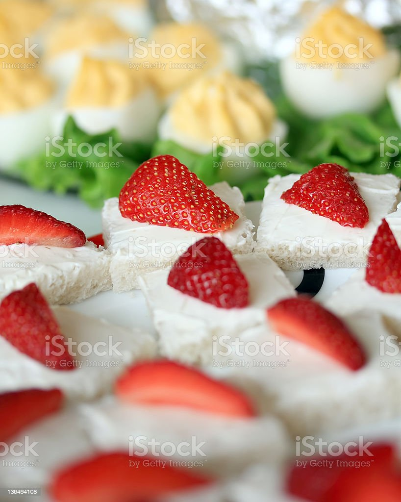 party buffet royalty-free stock photo