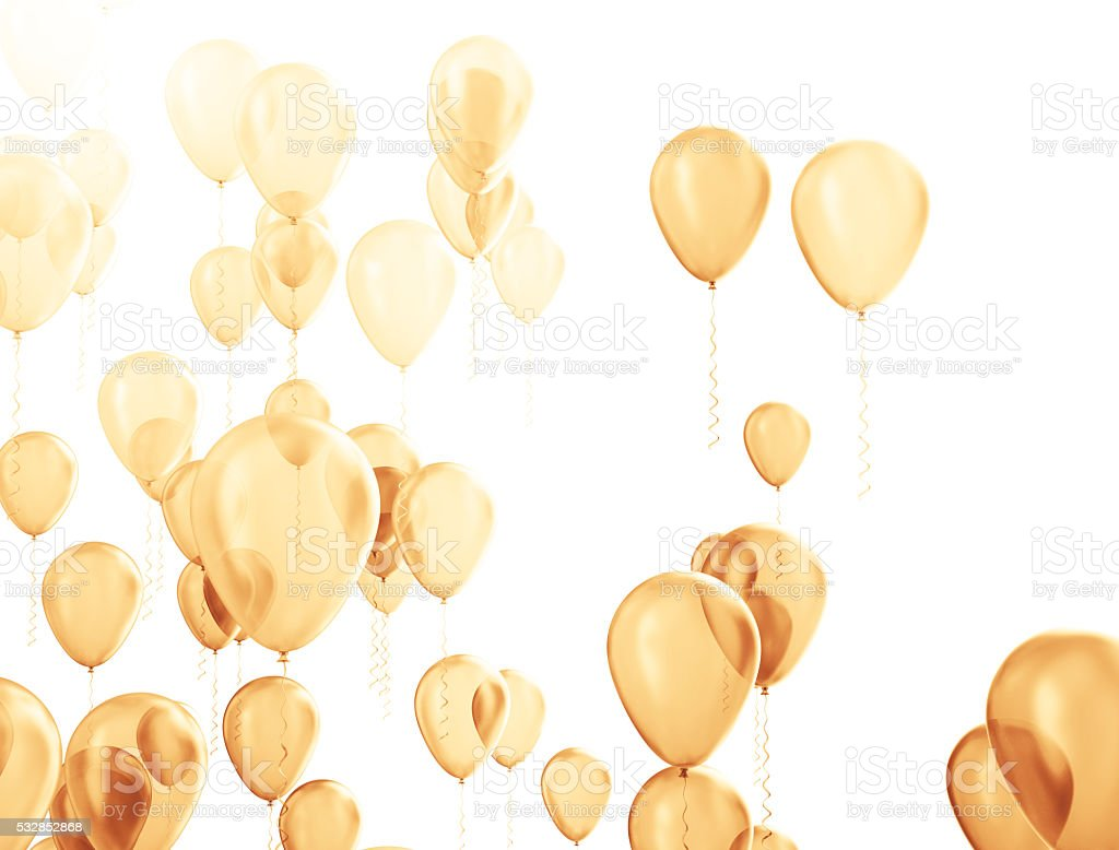 Party celebration balloons stock photo