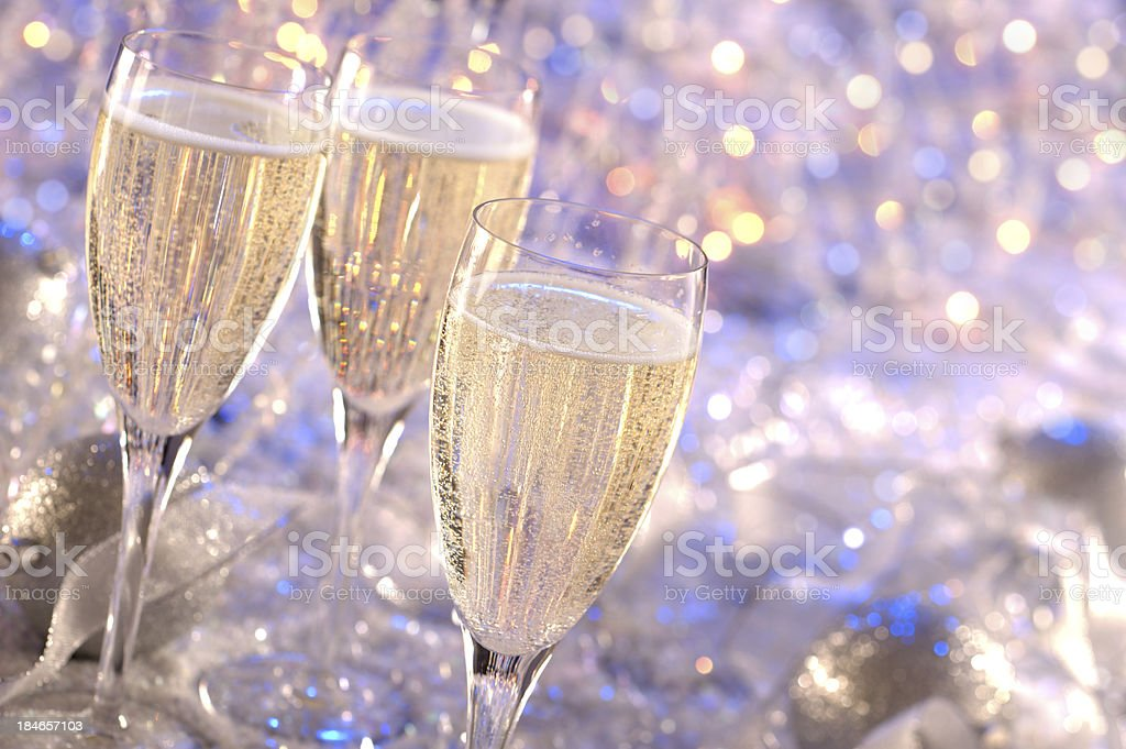 Party Champagne stock photo