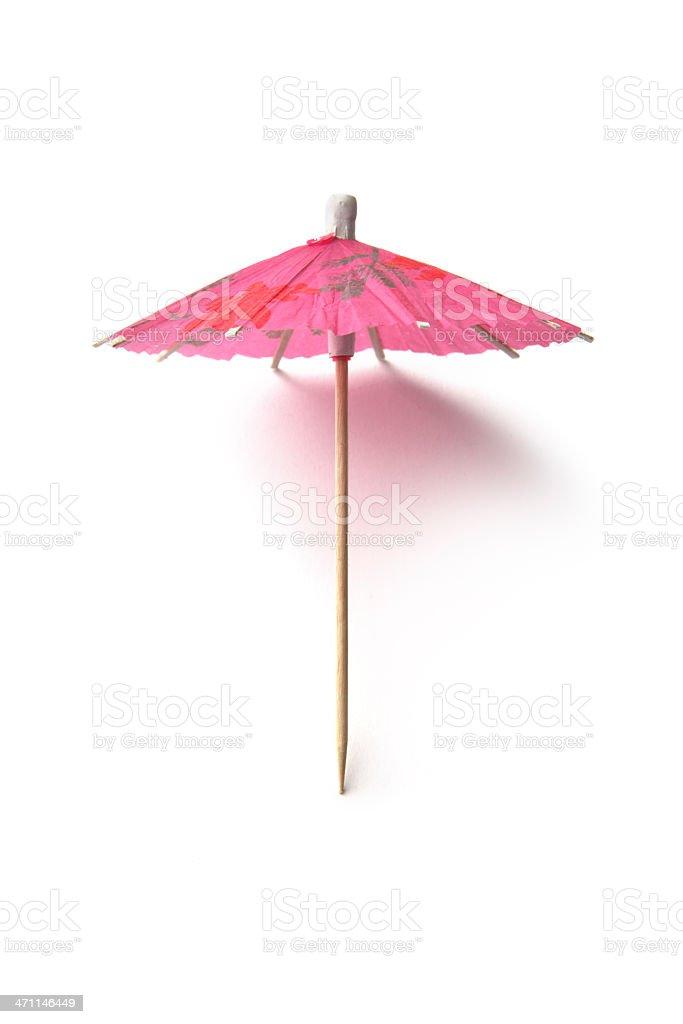 Party: Cocktail Umbrella royalty-free stock photo