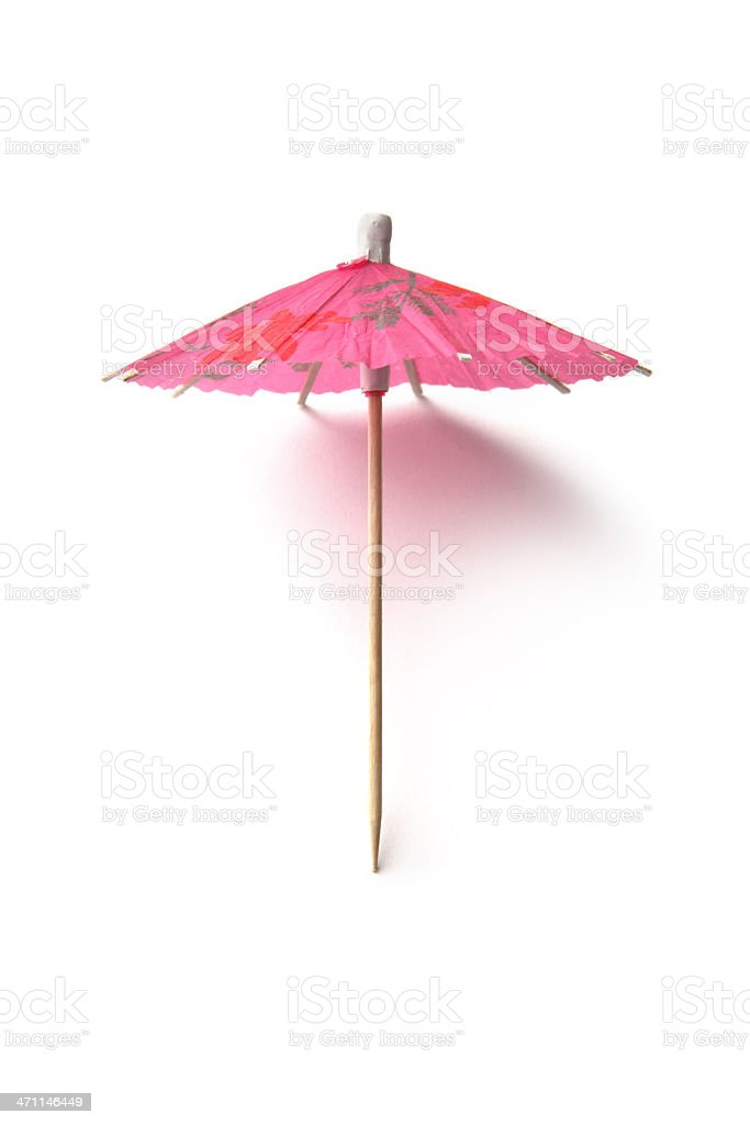 Party: Cocktail Umbrella stock photo