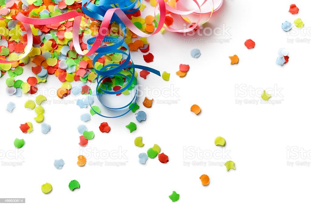 Party: Confetti and Streamer stock photo