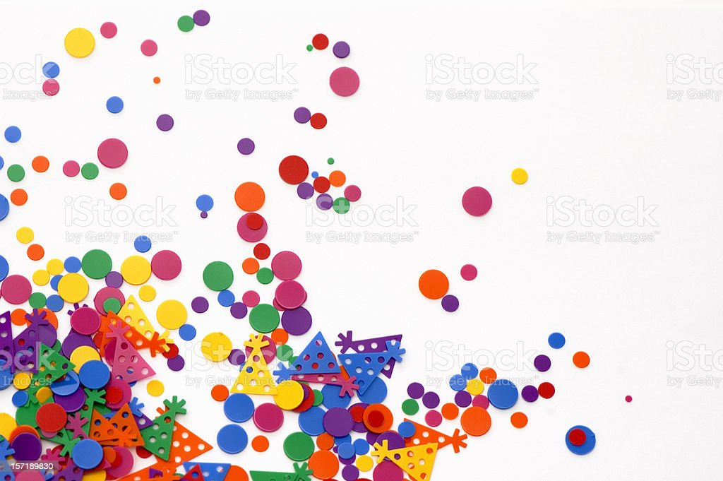 Party Confetti royalty-free stock photo