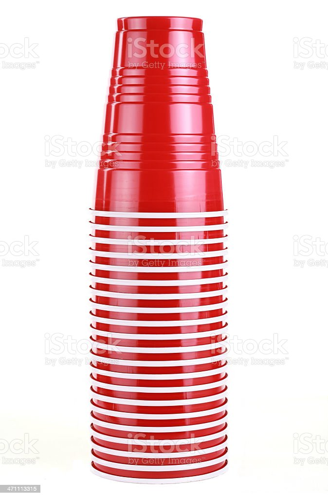 Party Cups royalty-free stock photo