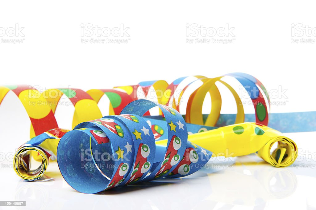 party decoration for silvester stock photo