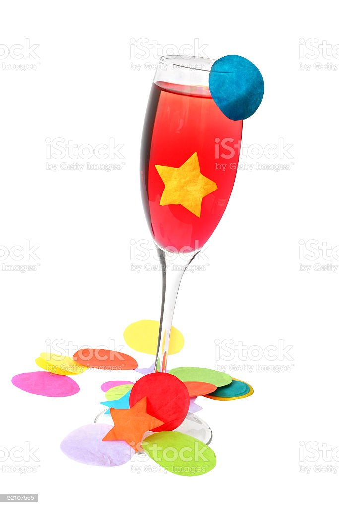Party Drink royalty-free stock photo