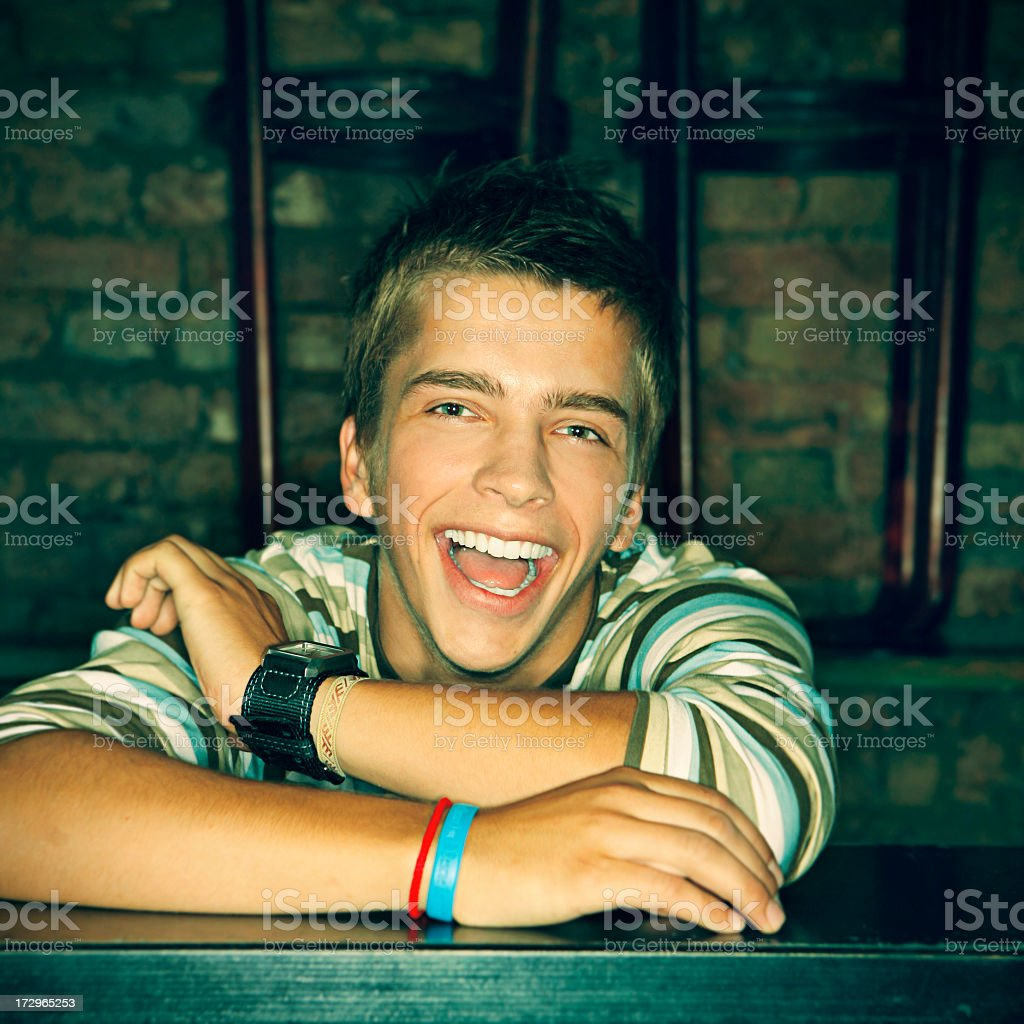 Party Dude royalty-free stock photo