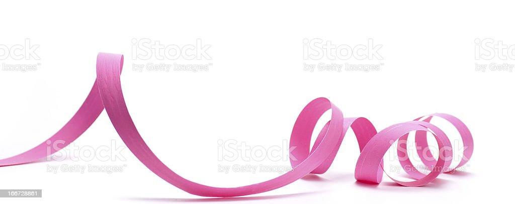 Party Favor, Pink Ribbon stock photo