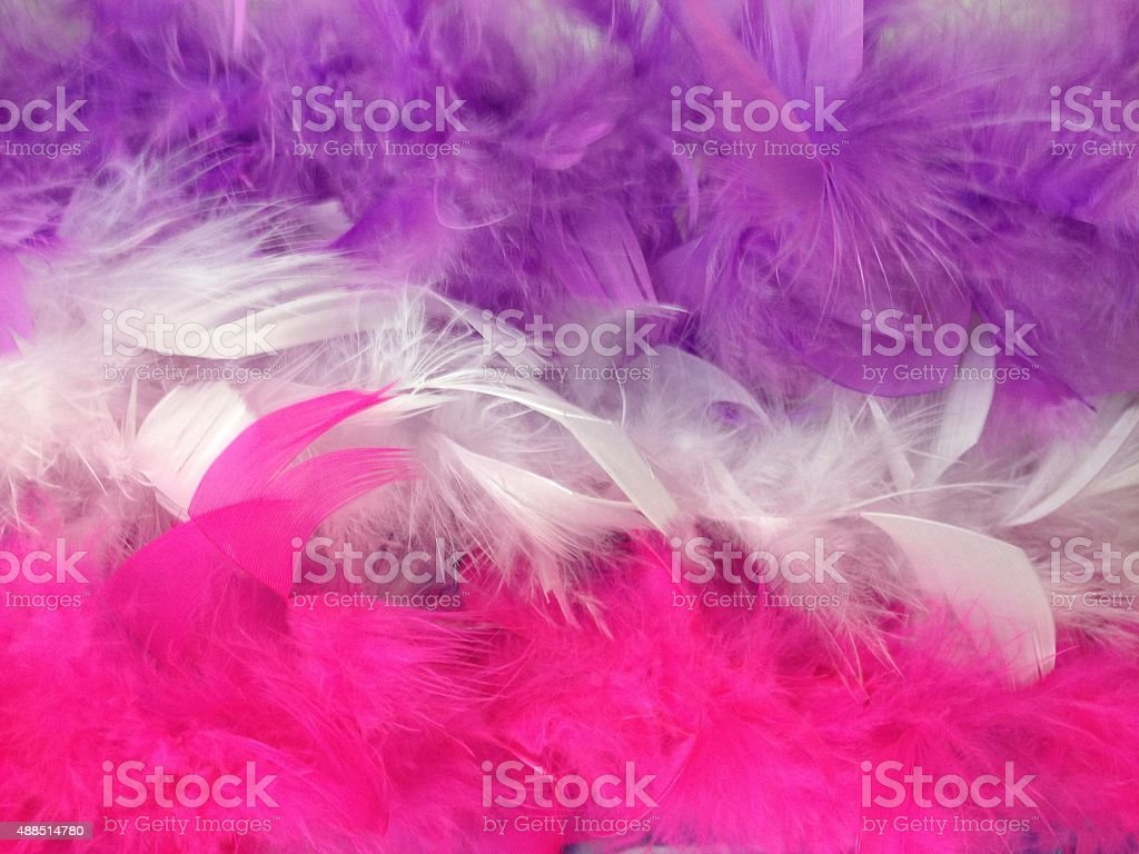 Party feathers royalty-free stock photo