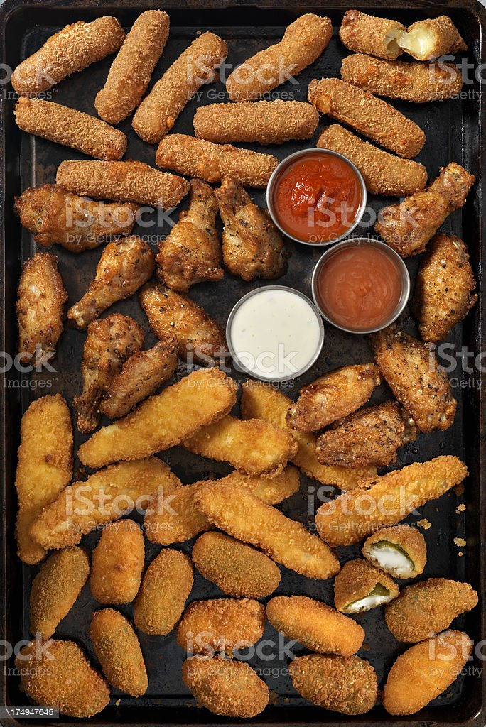 Party Foods stock photo