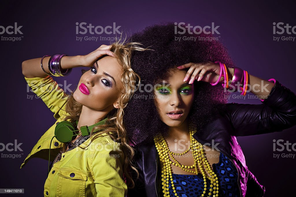 Party Girls stock photo