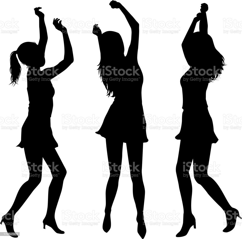 Party Girls royalty-free stock photo