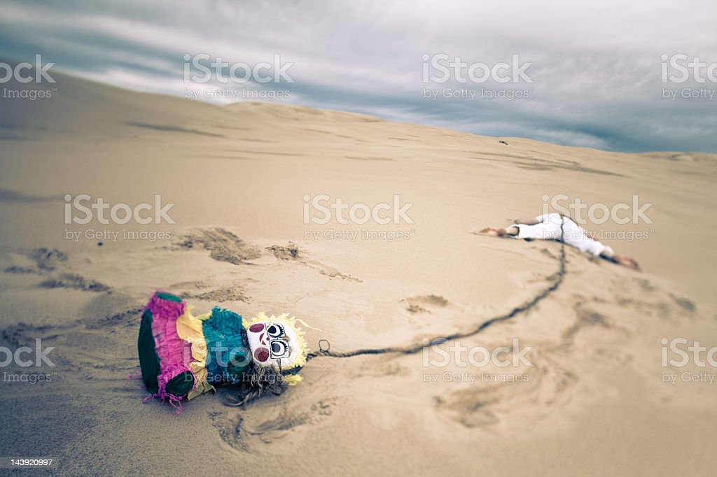 Party gone wrong royalty-free stock photo