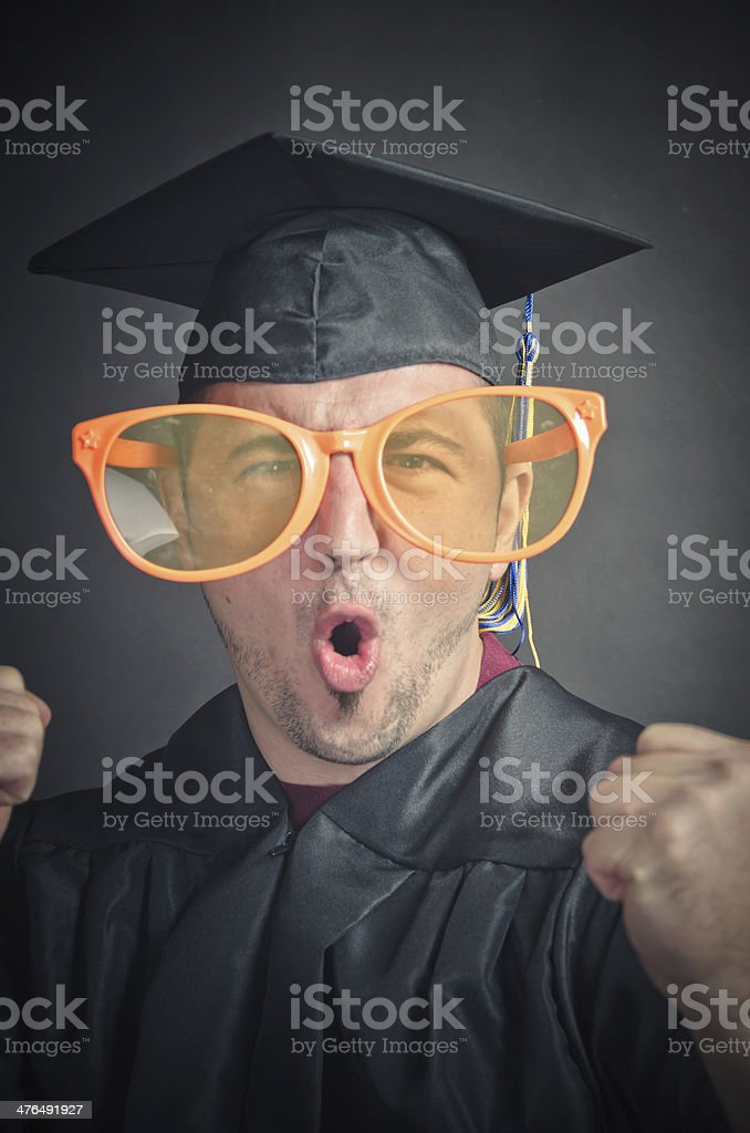 Party graduate royalty-free stock photo